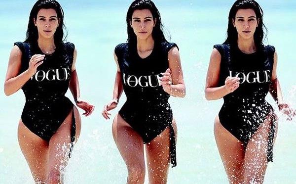 Kim Kardashian-West the face of Vogue Australia February Issue