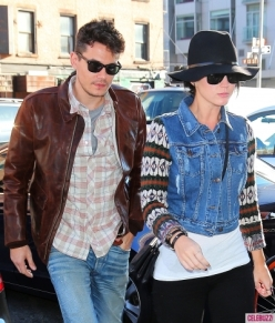 John Mayer and Katy Perry back together