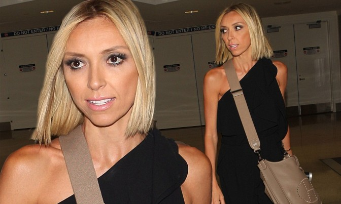 Giuliana Rancic Ditches her Blonde Locks and Goes Brunette for the Oscars