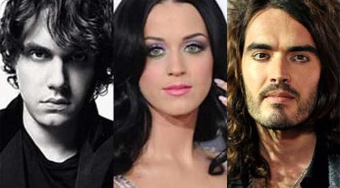 The Super Bowl was ALL about Katy Perry, John Mayer and Russell Brand