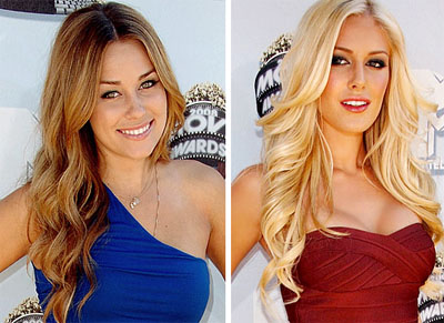 HEIDI MONTAG FINALLY LETS GO OF LAUREN CONRAD AT MARRIAGE BOOT CAMP (VIDEO)